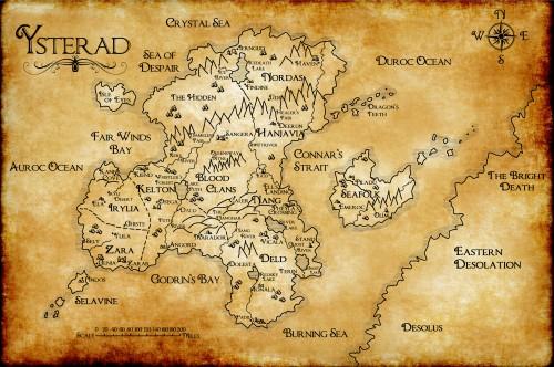 Ysterad map 2015 print