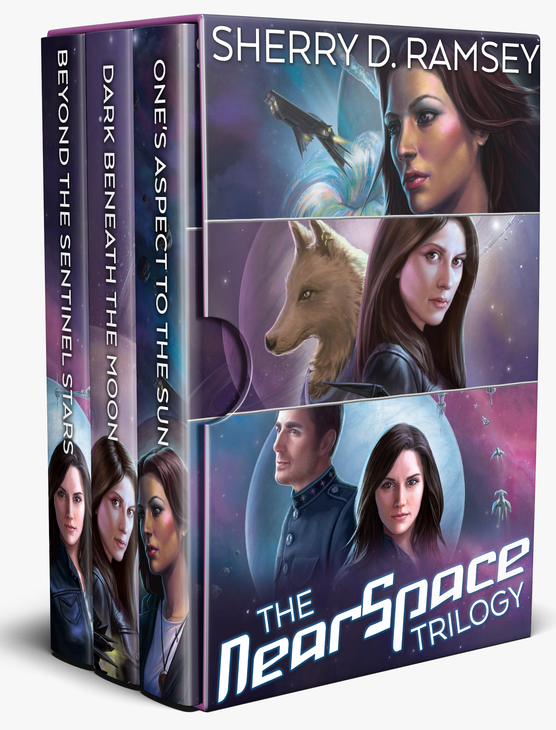 Nearspace Trilogy (ebook box set)